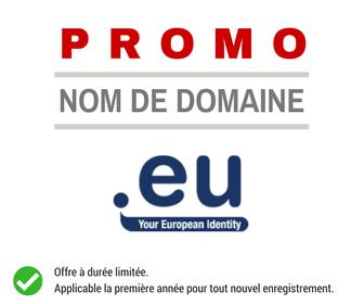 Promotion sur le nom de domaine .EU