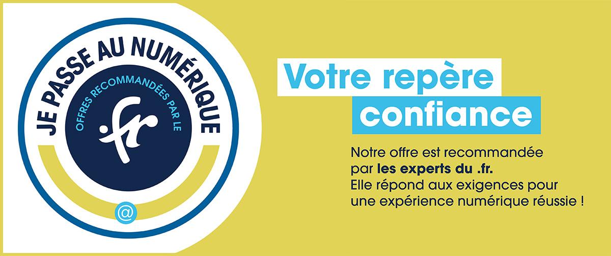 Offre recommandée par les experts du .fr
